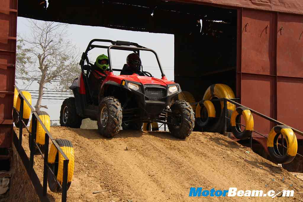 Polaris Experience Zone RZR Ramp