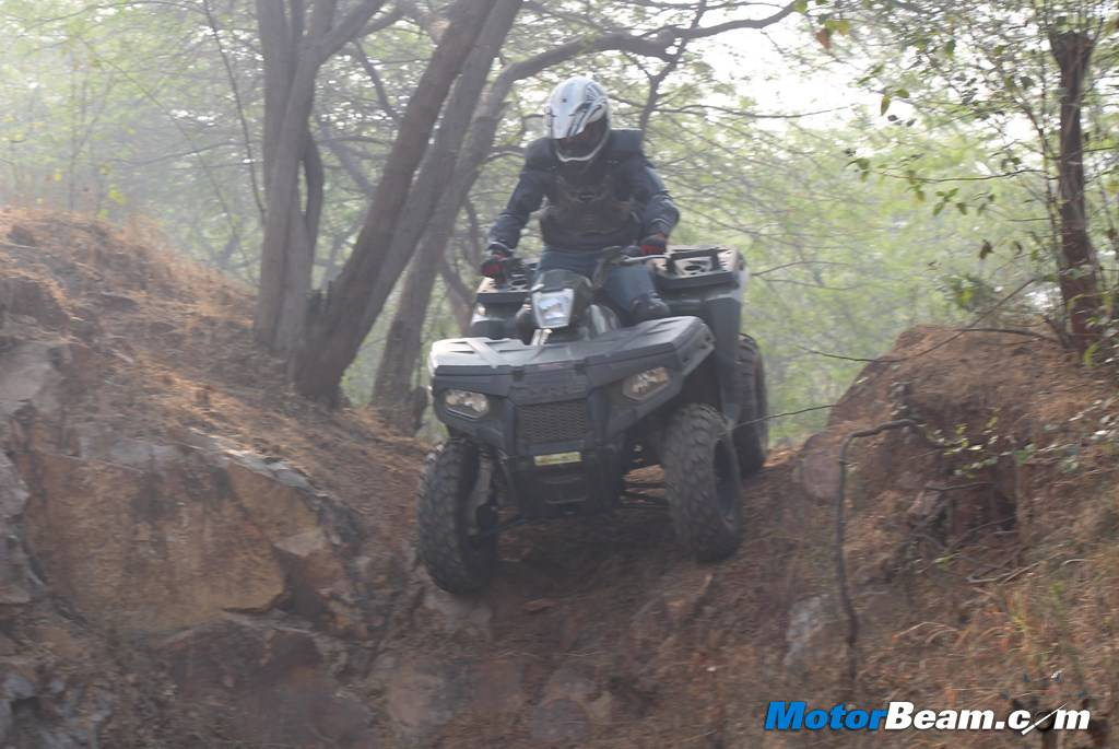 Polaris Sportsman Touring 500 Off Road