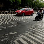 Poor Quality Roads Delhi