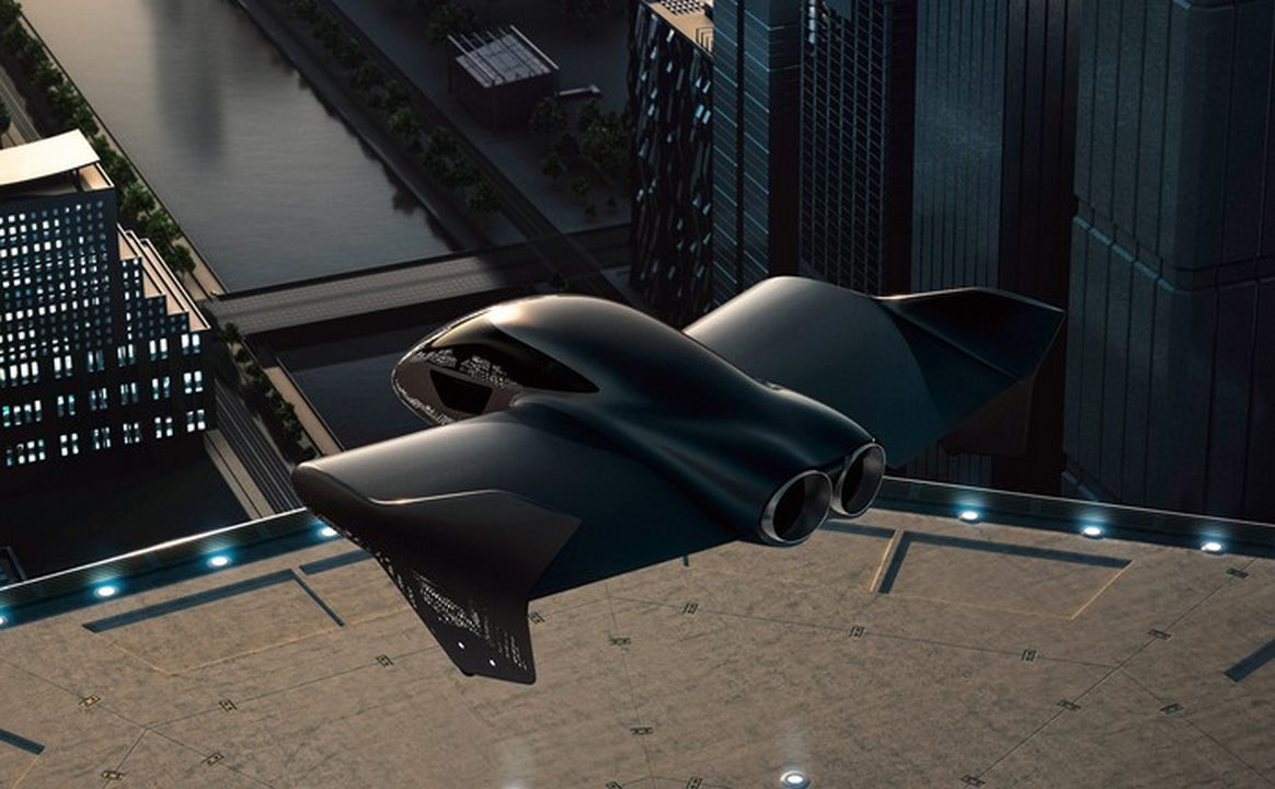 Porsche And Boeing Flying Car Prototype