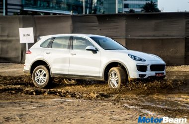 Porsche Cayenne Off-Road Experience