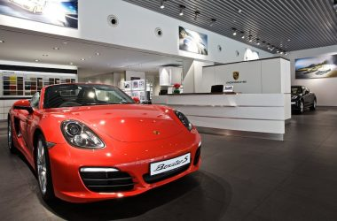 Porsche Centre Kolkata Display