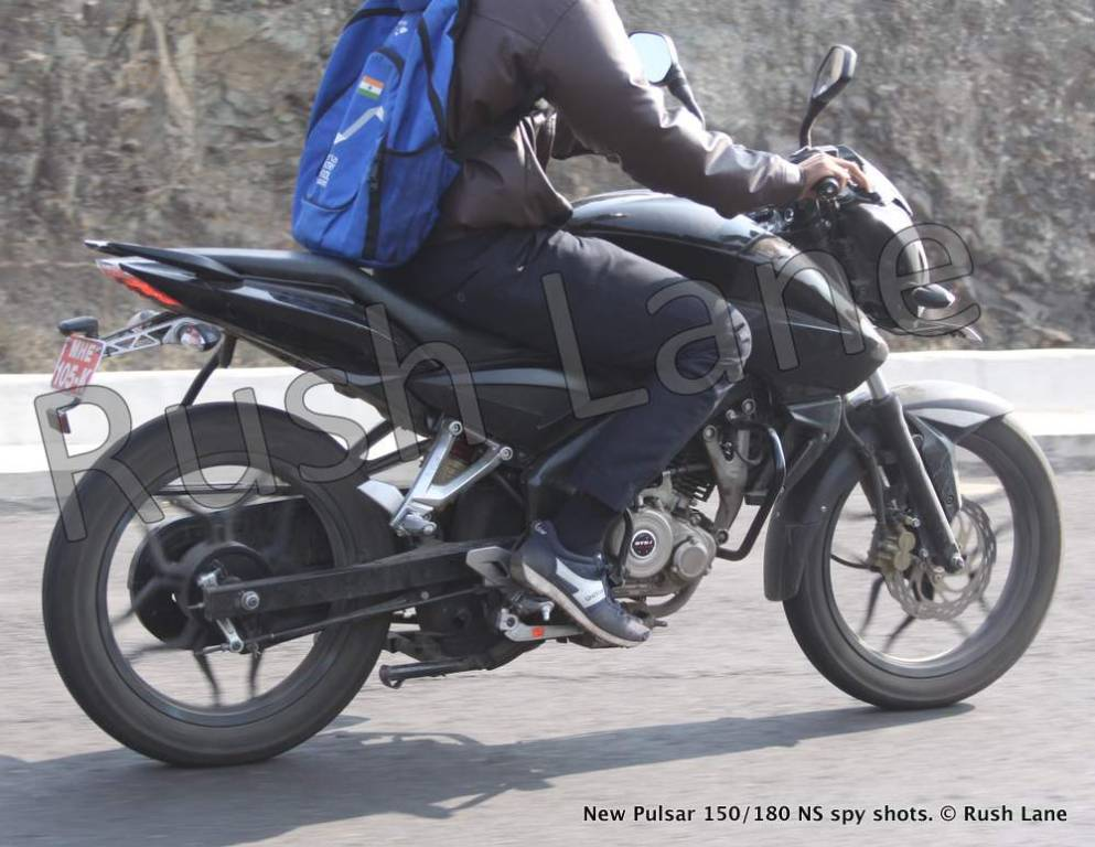 Bajaj Pulsar 150 Ns Spotted On Test For First Time