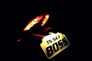 Pulsar 200 NS Number Plate
