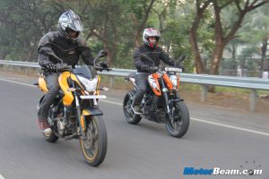 Pulsar 200 vs Duke 200 Shootout