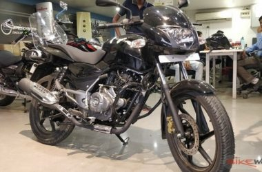 2018 Pulsar Classic 150 Launched, Priced At Rs. 67,437/-
