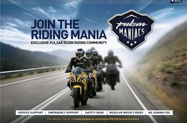 Pulsar Maniacs & The Avenger Gods Rider Communities Launched