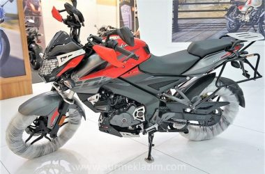 Pulsar NS 200 Adventure Edition Showcased In Istanbul