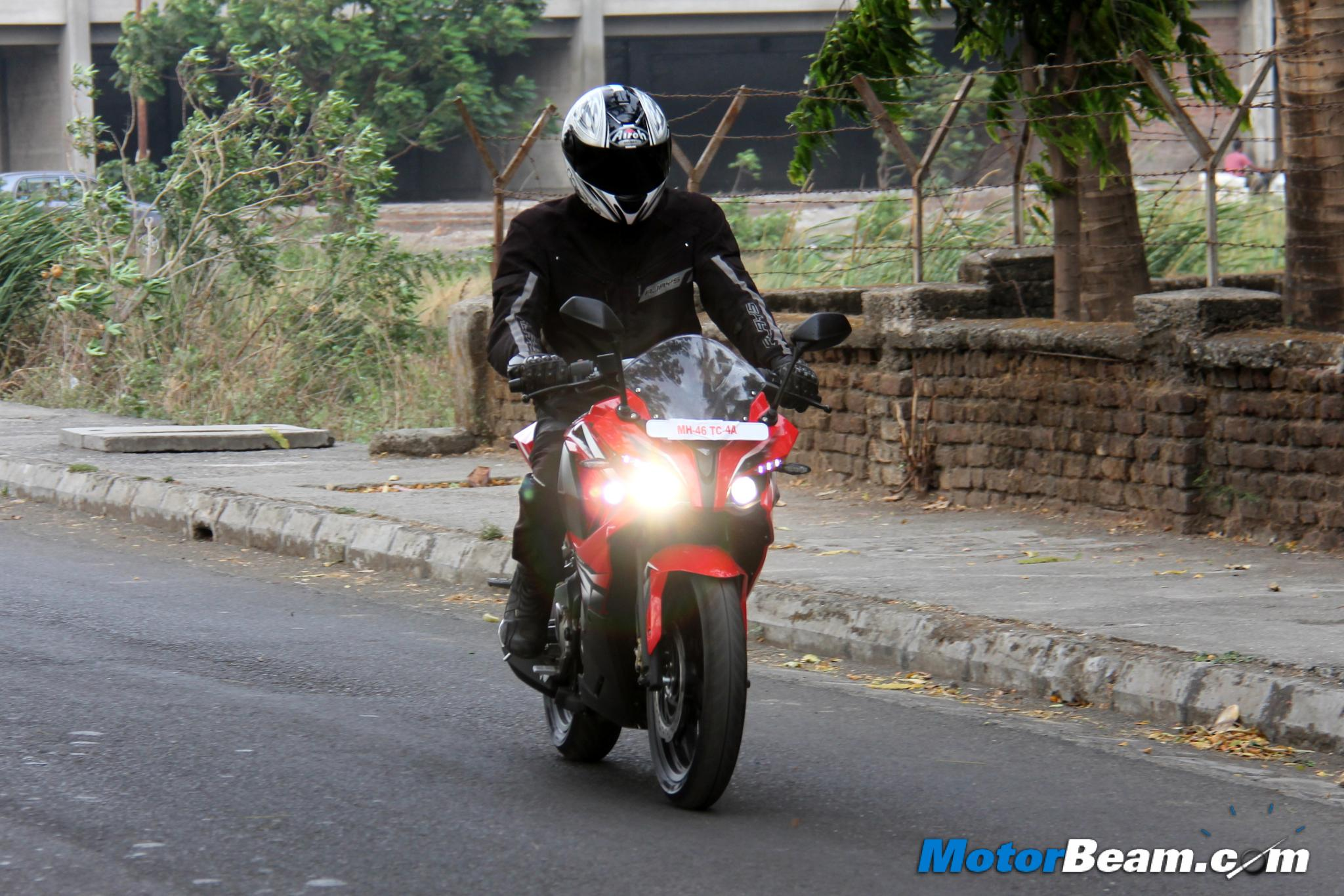Pulsar RS 200 Test Ride