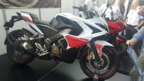 Pulsar RS 200 White Red Side