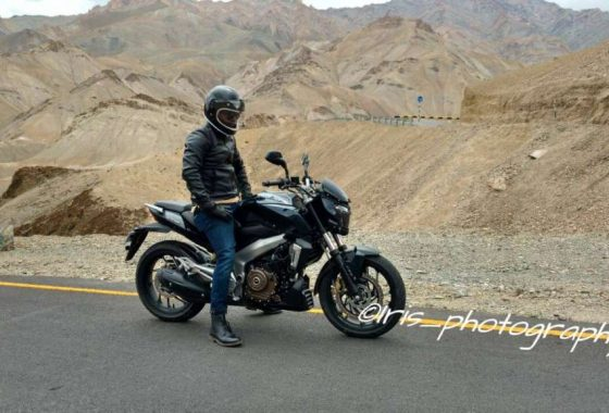 Pulsar VS 400 Is Vantage Sport; TVC Shot In Leh
