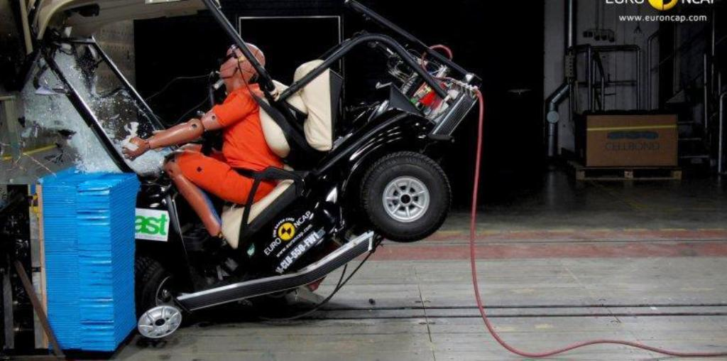 Quadricycles Euro NCAP Safety Crash Test