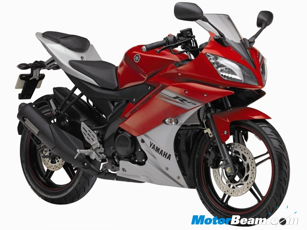 New Yamaha R15 - Red Colour