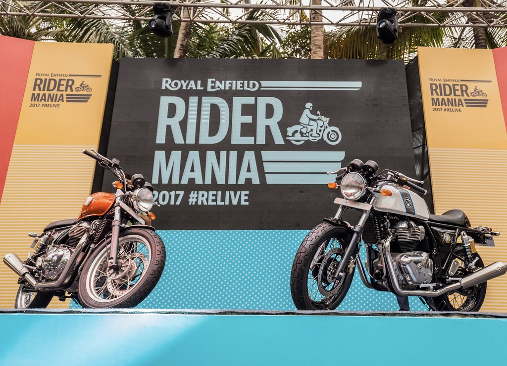 RE 650 Twins India Debut