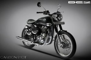 Royal Enfield Bullet Modified By DC, Called Carbonshot