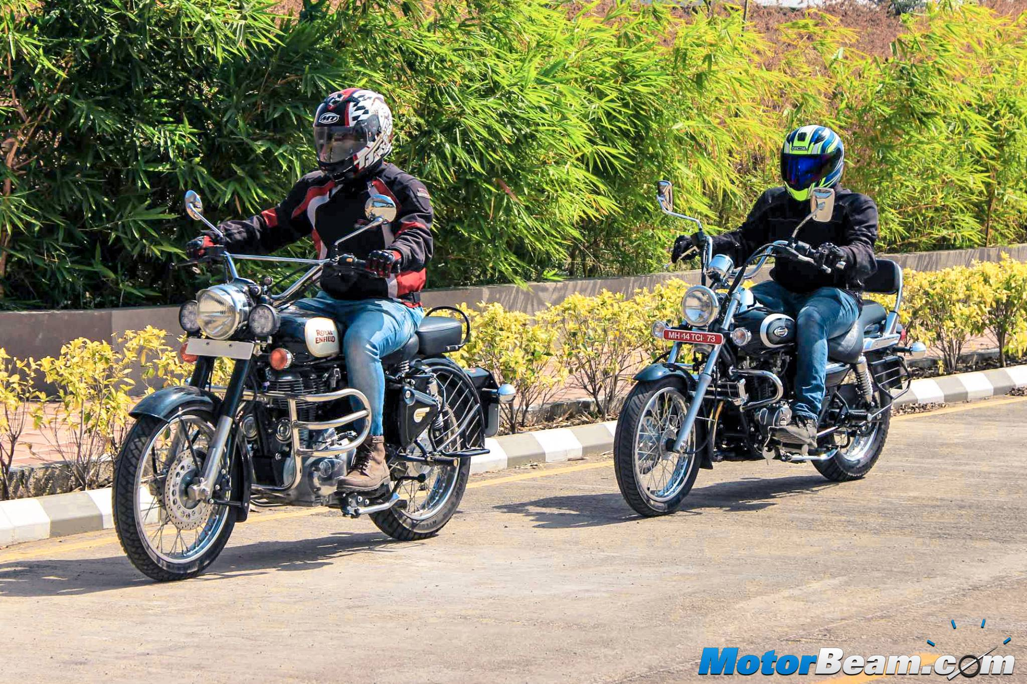 RE Classic 350 vs Bajaj Avenger 220