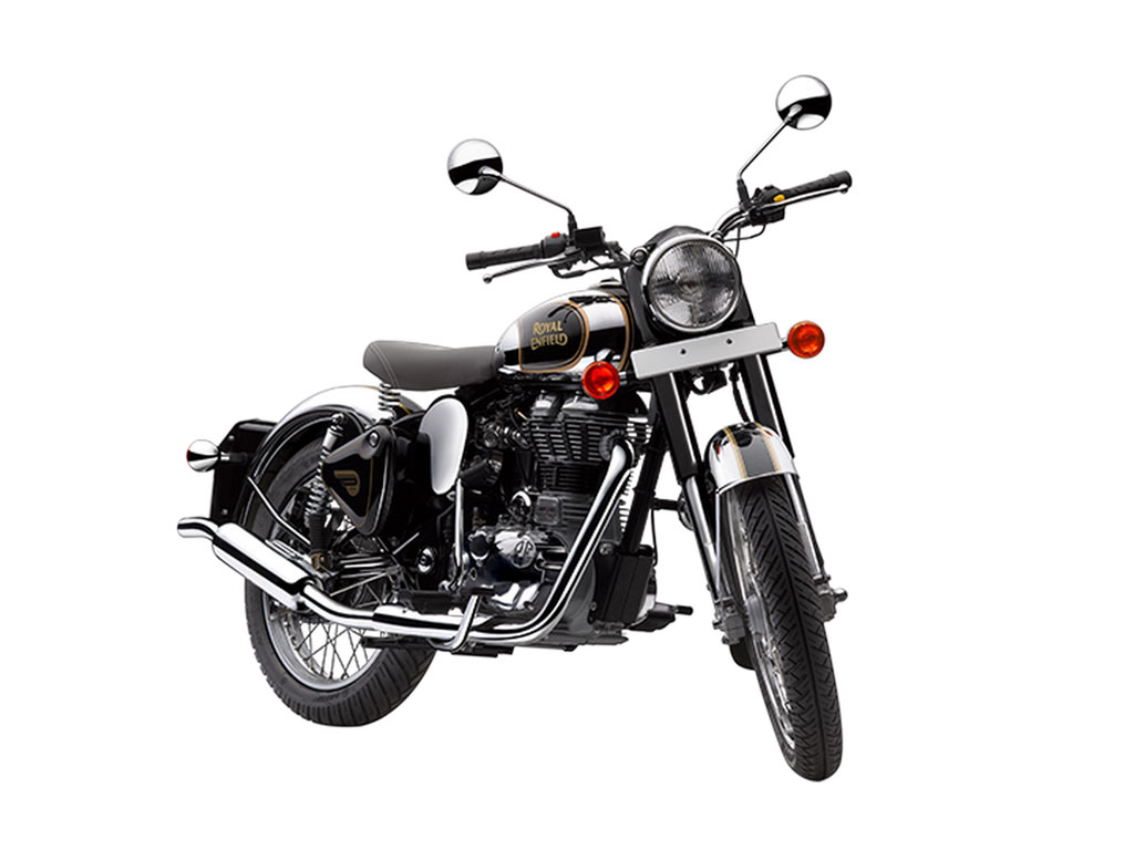 Royal Enfield Classic Chrome Black Price