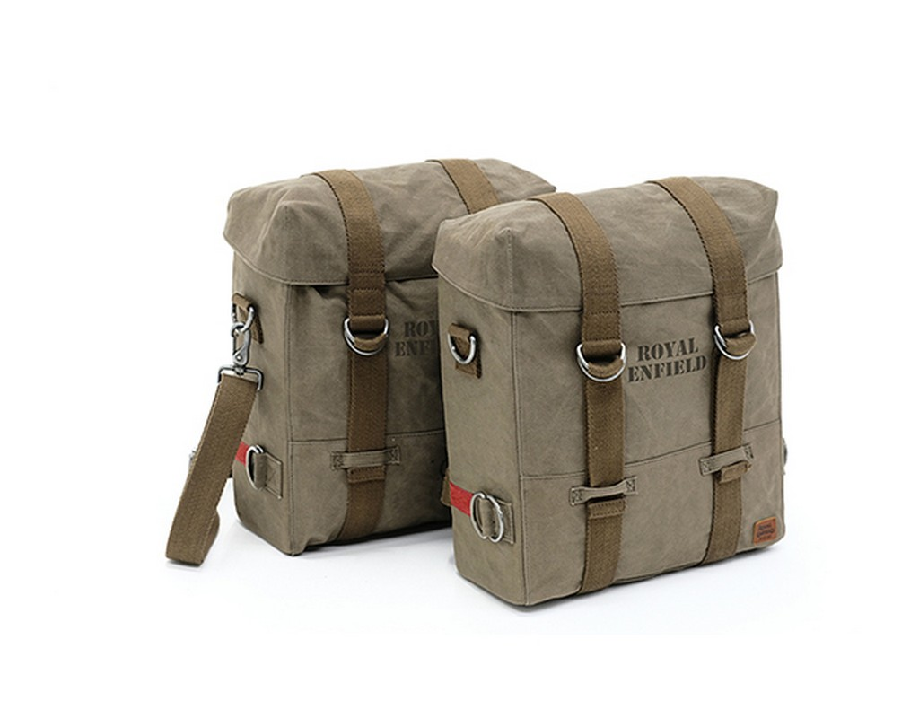 RE Classic Millitary Panniers