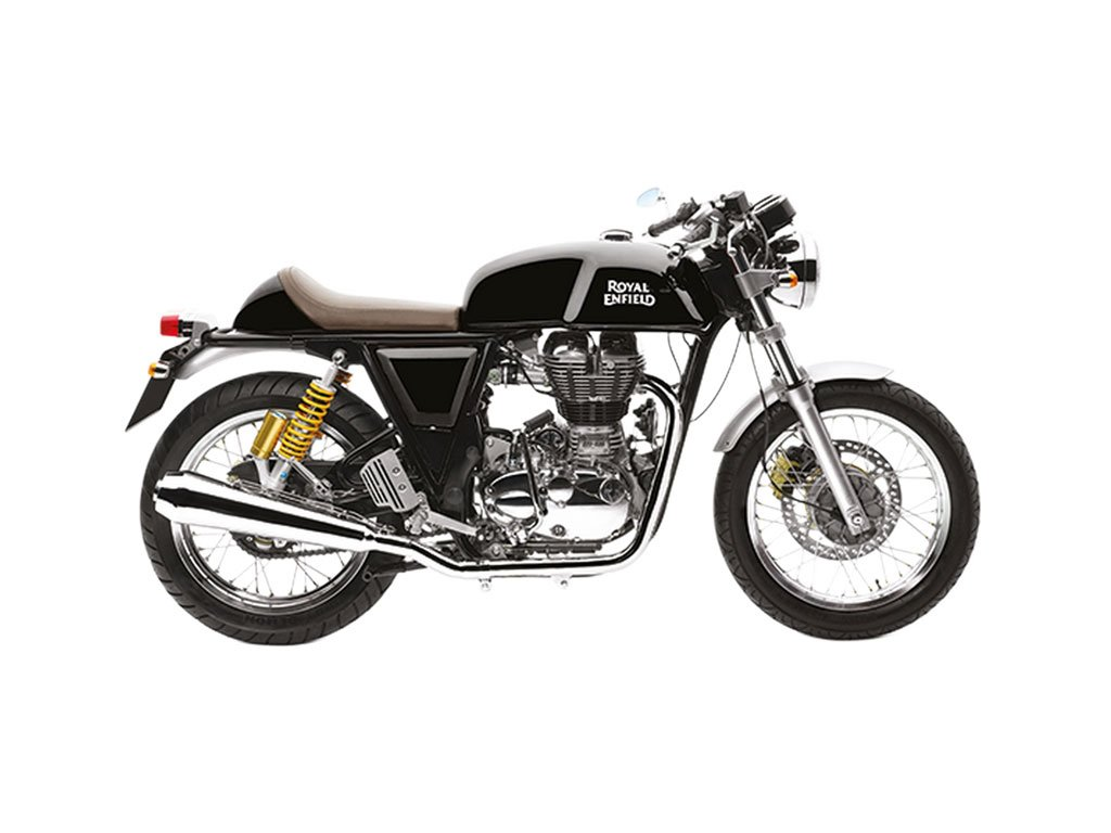 Royal Enfield Continental GT Red Review Black