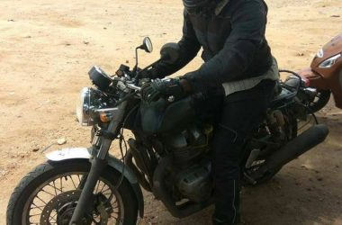 RE Twin-Cylinder Cafe Racer Spotted Yet Again On Test