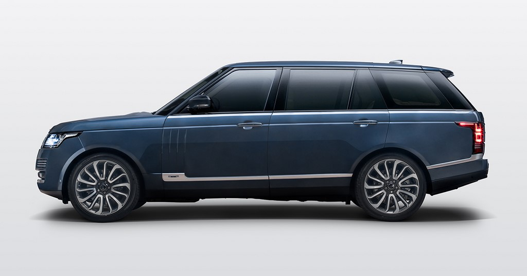 Range Rover Autobiography SVO Bespoke Side Profile
