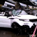 Range Rover Evoque Bridge Falll
