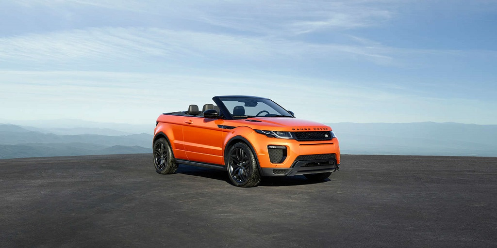 Range Rover Evoque Convertible Launched In India