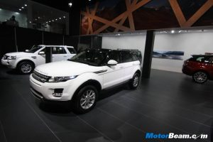 Range Rover Evoque India Price