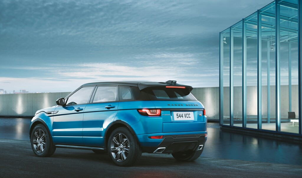 Range Rover Evoque Landmark Edition Launched