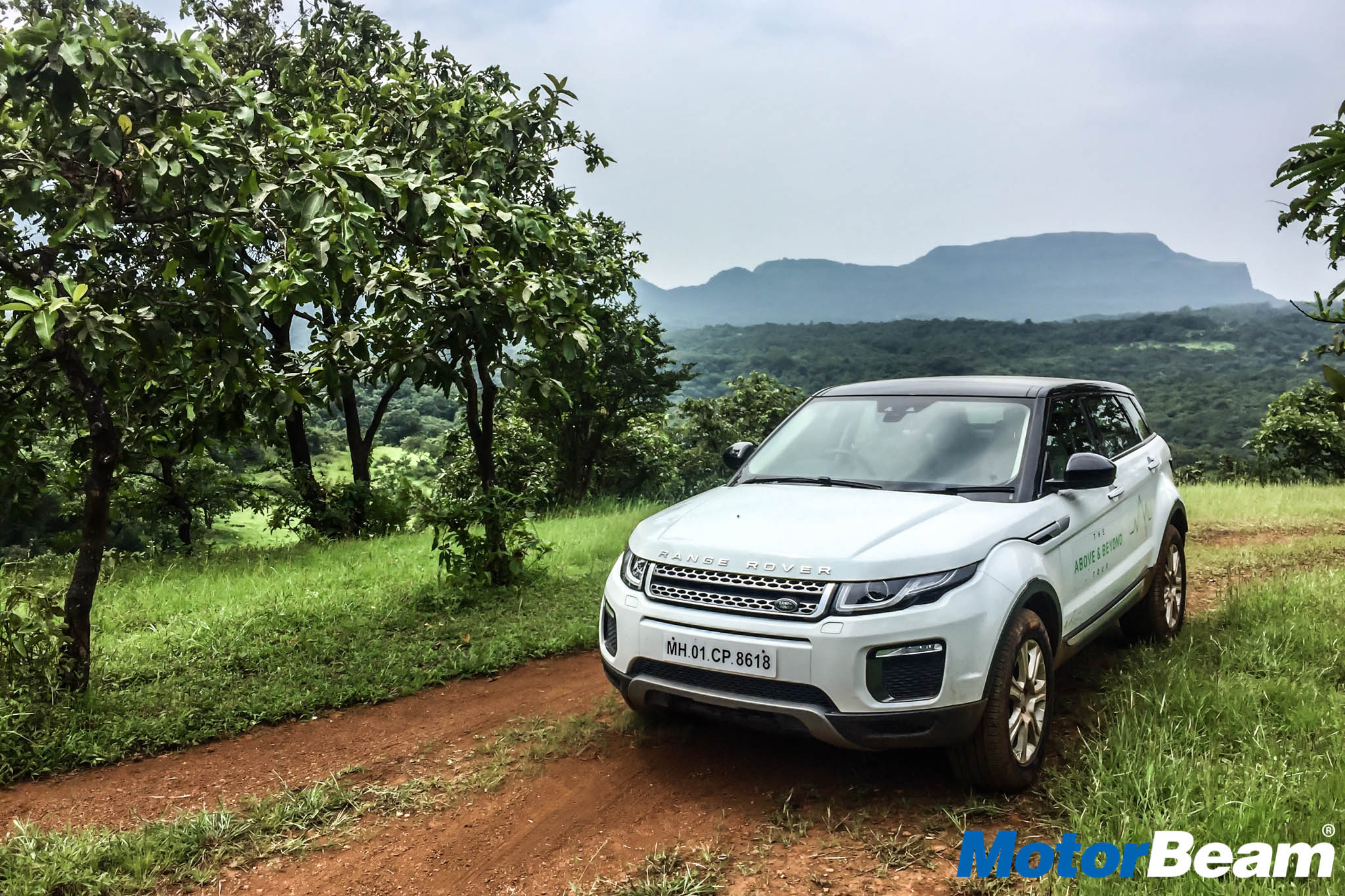 Range Rover Evoque Off-Roading