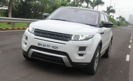 Range Rover Evoque Road Test