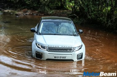 Off-Roading In The Range Rover Evoque – The Above And Beyond Tour