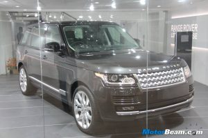 Range Rover LWB Unveil India