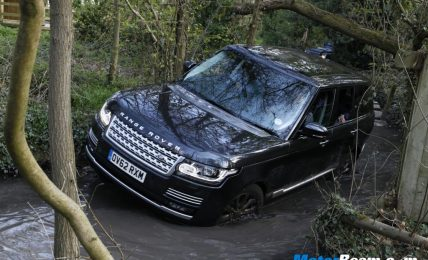 Range Rover Off-Roading
