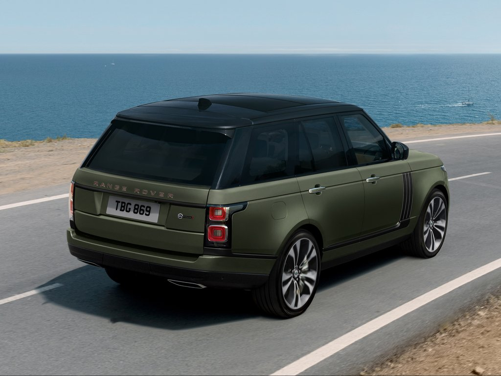 Range Rover SVAutobiography Ultimate Edition Rear