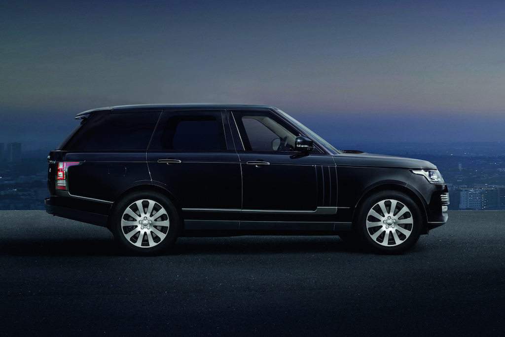 Range Rover Sentinel VR8 Protection