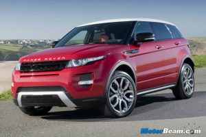 Range Rover Evoque India