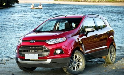 Red Ford EcoSport