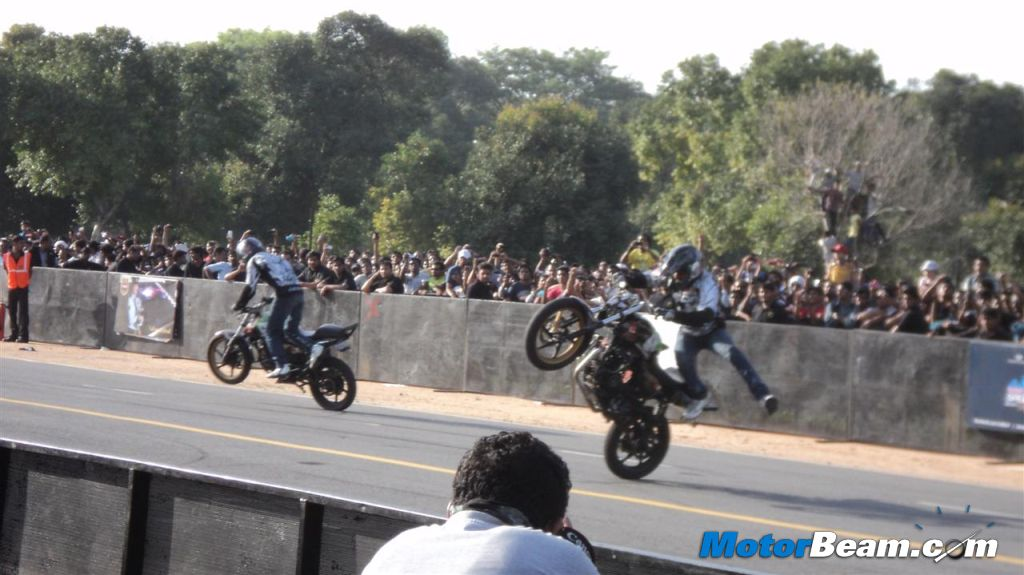 Red Bull Ghostriders Show