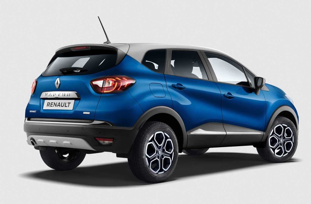 Renault Captur Facelift Rear
