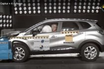 Renault Captur Latin NCAP Tests