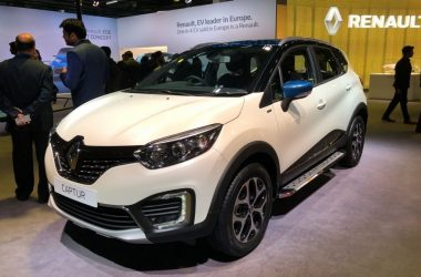 Renault Captur Special Edition Showcased At Auto Expo