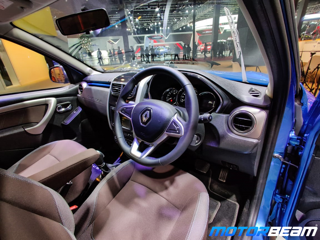 Interior of the compact SUV