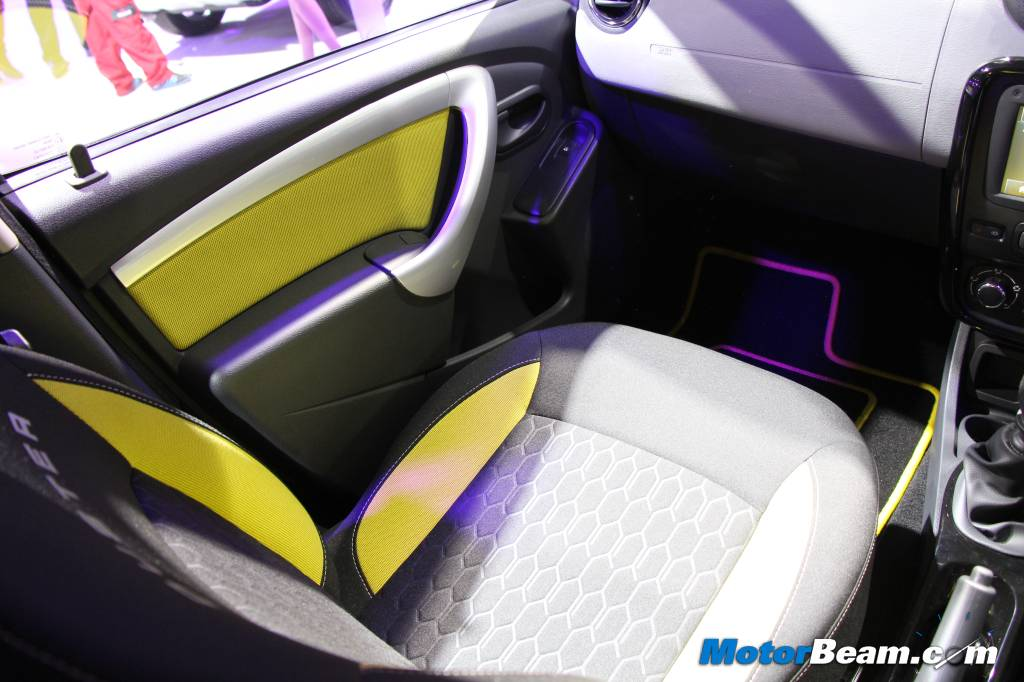 Renault Duster Adventure Edition Front Seats