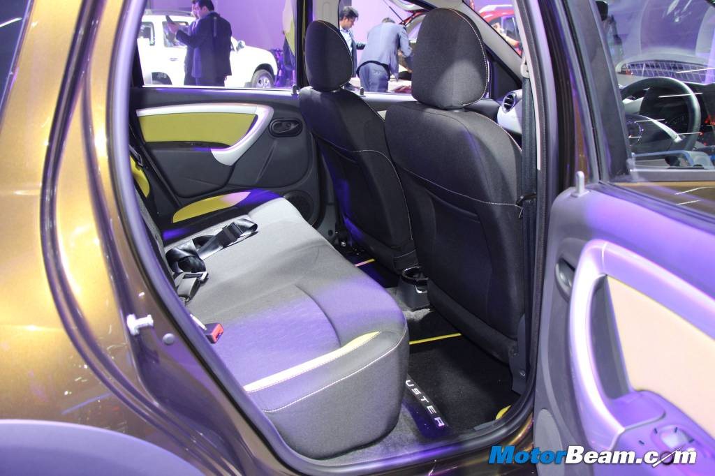 Renault Duster Adventure Edition Rear Seats