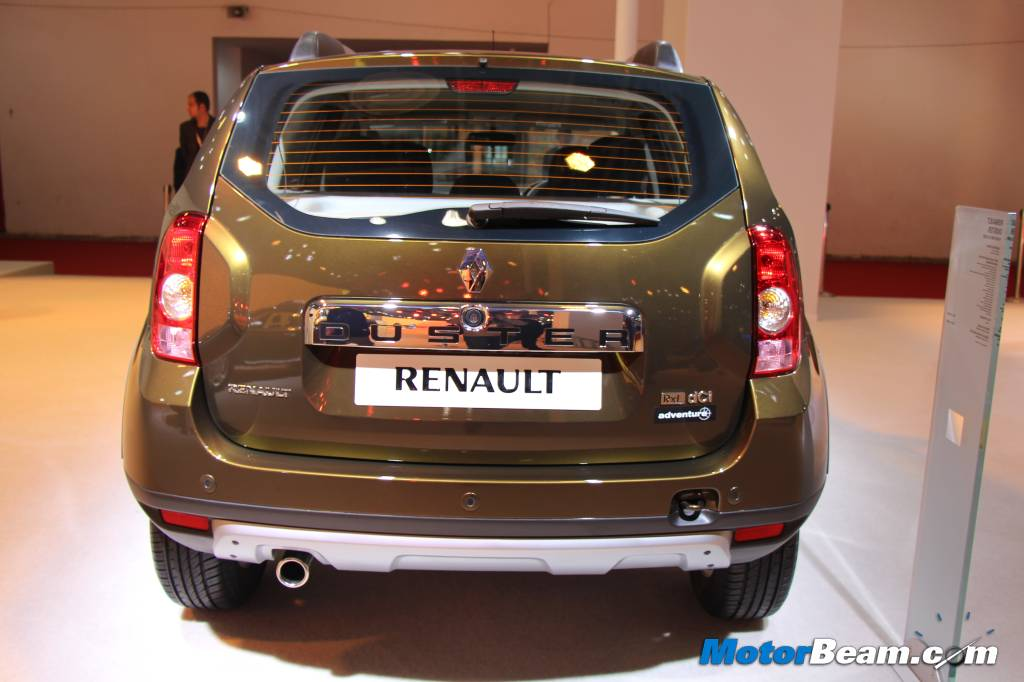 Renault Duster  Edition Rear