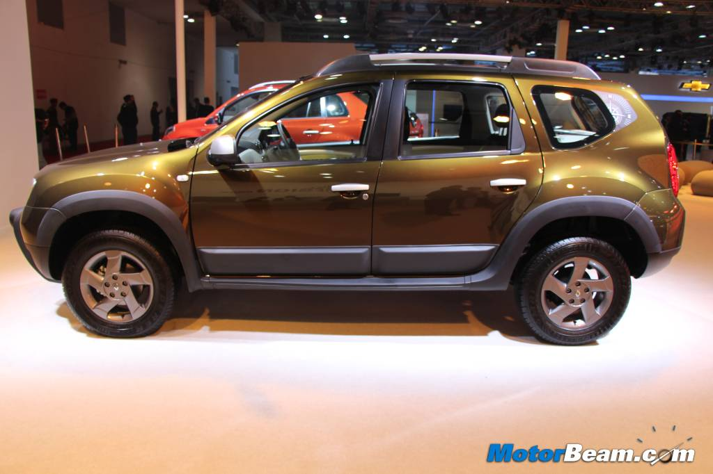 Renault Duster Adventure Edition Side