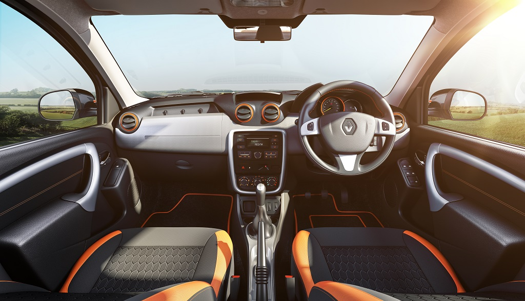 Renault Duster Explore Limited Edition Dashboard