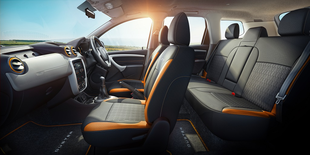 Renault Duster Explore Limited Edition Interior