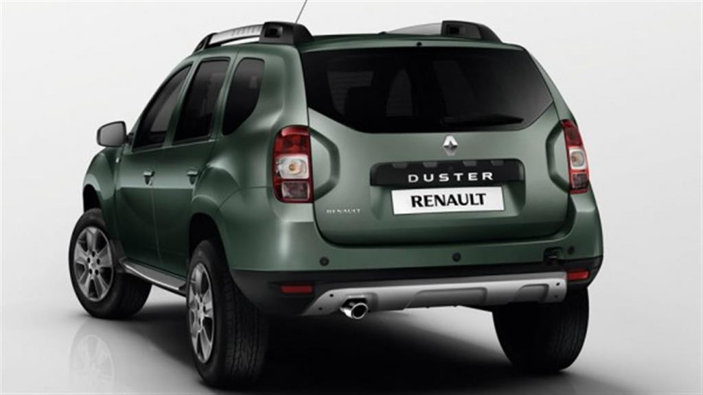 Renault Duster Facelift India Rear